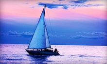 Two-Hour Sunset Cruise for 2 or 4, or Introductory Private Sailing Lesson for 2 from The Sailboat Club (Up to 70% Off)