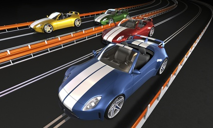 1, 3, or 5 Days of Slot Car Rental or Five One-Day Passes from Race O' Rama Hobbies & Raceways (Up to 50% Off)
