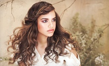 Cut, Hair Therapy, and Optional Color or Partial or Full Highlights at Namaste Pure Design Salons (Up to 63% Off)