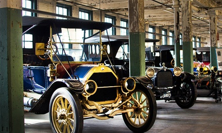 Ford Piquette Avenue Plant Museum Visit for Two