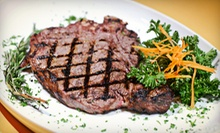 Zagat-Rated, Prix Fixe Three-Course Italian Dinner for Two or Four at Padre Figlio (Up to 63% Off)