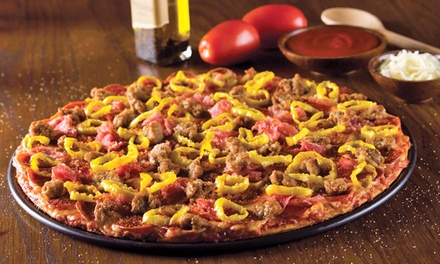 $12 for Two Groupons, Each Good for $10 Worth of Pizza and Italian Food at Donatos ($20 Total Value)