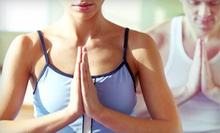 One Month of Yoga and Health-Club Membership with Optional Massage at Spa 23 BeYoga (Up to 81% Off)