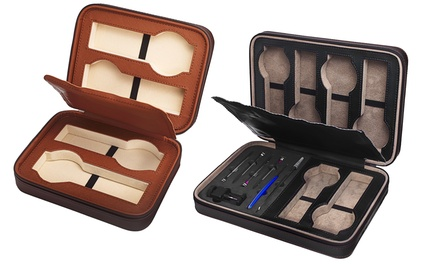 Akribos XXIV Men's-Watch Zipper Case for $29.99 or $39.99