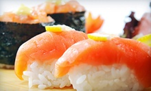 Sushi and Asian Cuisine at Red & Blue (Half Off). Two Options Available.