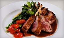 $25 for $50 Worth of Upscale Dining at Noras Restaurant &amp; Lounge