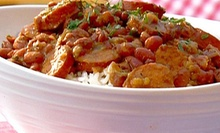 Cajun Food and Drinks for Two or Four at Caf NOLA (Half Off)