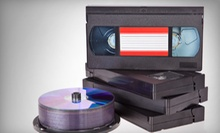 Three or Six VHS-to-DVD Transfers at Denevi Digital Imaging (Up to 67% Off)