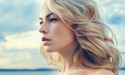 Haircut and Style with Optional Partial or Full Highlights with a Senior Stylist at Echo Salon (Up to  66% Off)