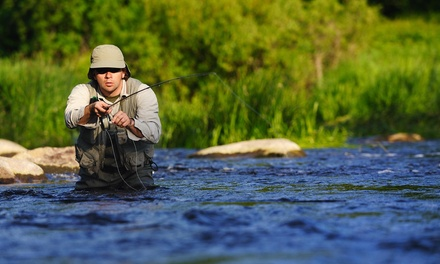 Five-Hour Fishing Trip with Optional Meal from J. Farns Guide Service (43% Off)
