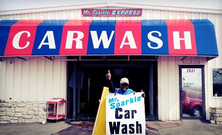 $25 for Two Protection Car-Wash Packages at Mr. Sparkle Car Wash ($50 Value)
