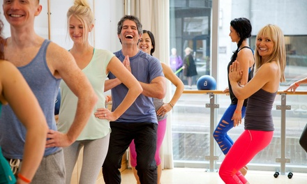 Four Barre3 Fitness Classes or Two Months of Unlimited Barre3 Classes at barre3 (Up to 51% Off)