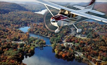 Discovery Flight for One or Two, or Scenic or Romantic Skyline Flight for Two from Sky Training LLC (Up to 58% Off)