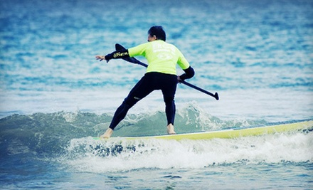 $45 for a One-Hour Group Standup-Paddleboard Lesson for Two from Peter Pan Surfing Academy ($90 Value)