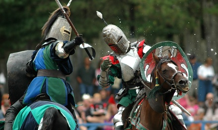 [Renaissance-Festival Admission for Two or Four Adults at King Richard's Faire (Up to 48% Off) Image]