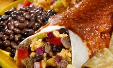 Mexican Cuisine at Poblanos Mexican Grill (Half Off). Two Options Available.