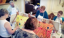 $199 for an At-Home or At-Office Art Party for 10 from Paint Like Picasso ($500 Value)