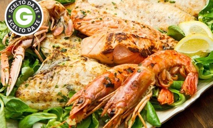 Ristorante Eden - Ristorante Eden: Menu di pesce con 3 calici di vino abbinati alle portate da 39 €