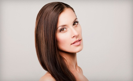 $99 for a Keratin Hair Treatment at Mbhairdesigns (Up to $375 Value)