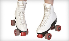 Roller Skating, Laser Tag, and Gaming Tokens for Four or Six at Roll On America (Up to 77% Off)
