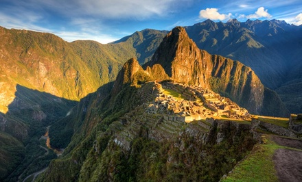 5-Day Tour of Peru with Machu Picchu Tour and Airfare from Gate 1 Travel. Price/person Based on Double Occupancy.