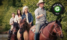 Horseback Trail Ride for One, Two, or Four at Garden Valley Trail Rides (Up to 57% Off). Six Options Available. 