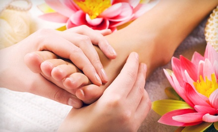 45-Minute Reflexology Session with Optional Pedicure at Bellezza Mia Spa (Up to 53% Off)