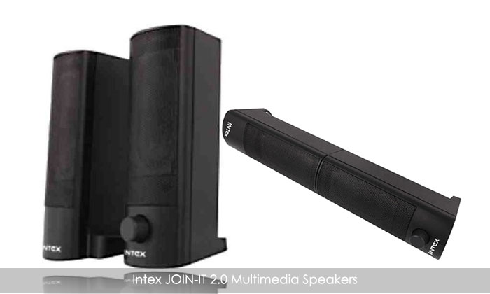 Rs.399 for Intex JOIN-IT 2.0 Multimedia Speakers