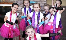 Two-Hour Themed Girls' Party for Eight at Sparkle Dazzle Dancewear & Boutique (Up to 66% Off)