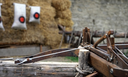 Crossbow and Bolts with Pizza and Soda for 2, 4, or 10 at Wings North (Up to 60% Off)
