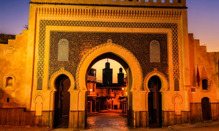 groupon daily deal - ✈ 8-Day Tour of Morocco with Airfare, Tours, and Some Meals from Gate 1 Travel. Price/Person Based on Double Occupancy.