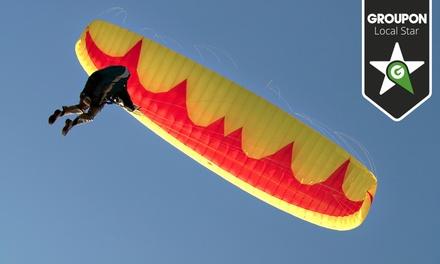 Skydive Lisboa: vale de desconto para um ou dois saltos Tandem desde 19,90€