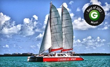 $25 for a Two-Hour Cast Away the Day Champagne Sunset Cruise for One from Tropical Sailing ($50 Value)