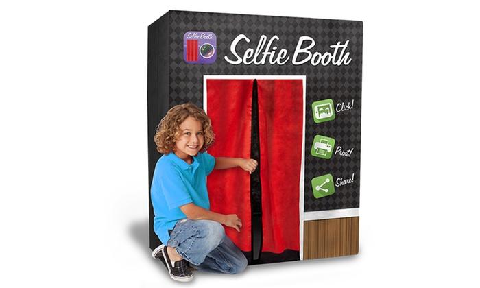 kid sized selfie booth groupon. Black Bedroom Furniture Sets. Home Design Ideas