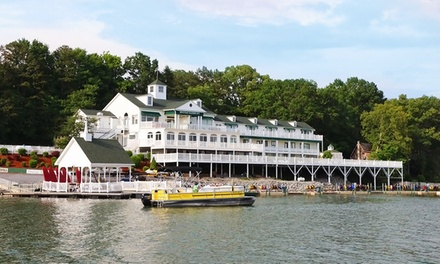 Groupon Deal: 1-, 2-, or 3-Night Stay with Sunset Cruise, Dessert, and Breakfast at Mountain Harbor Inn in Dandridge, TN.