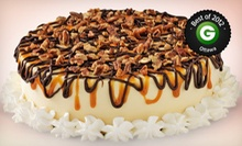 Ice-Cream Cake, Ice Cream, or Frozen Yogurt at Marble Slab Creamery (Up to 52% Off). Three Options Available.