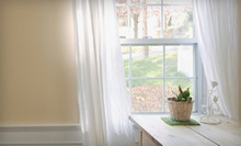 Two or Four Hours of Window Cleaning from Cactus Window Cleaning (Up to 57% Off)