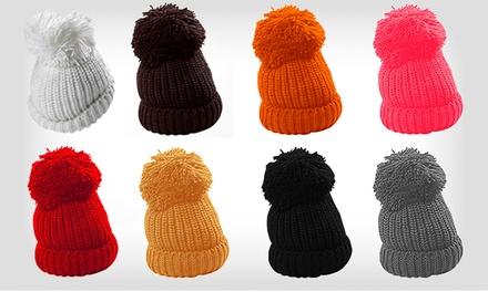 Gorro Fluffy Wool Bobble por 9,99€ ou dois por 16,99€