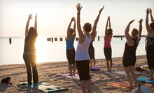 20 Beach Yoga Classes or a Season Pass for Unlimited Classes and Workshops at Sun and Moon Beach Yoga (Up to 80% Off)