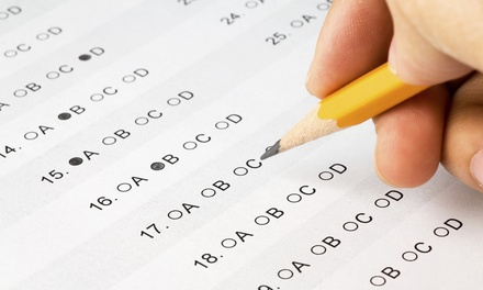 SAT/ACT Test-Prep Assessment or Academic Evaluation with Four Hours of Tutoring (Up to 85% Off)