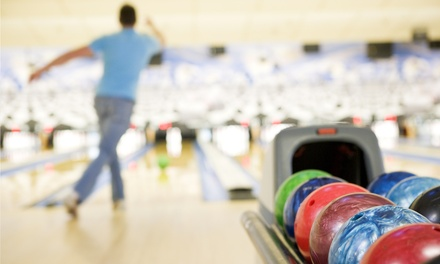 Daytime Bowling for Four or Nighttime Bowling for Four or Eight with Shoe Rental at First State Lanes (Up to 67% Off)