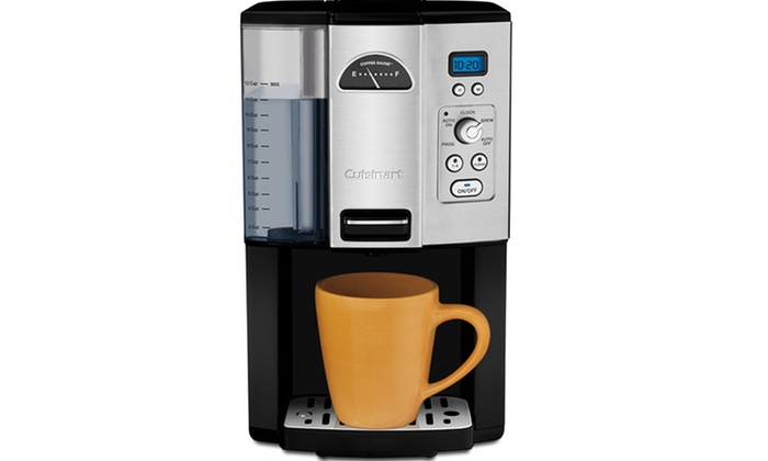 Cuisinart Coffee Maker Coffee On Demand : Cuisinart Coffee On Demand 12-Cup Coffee Maker Deal of the Day Groupon
