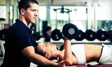 Four or Eight Personal-Training Sessions at One-on-One Personal Training Center (Up to 71% Off)
