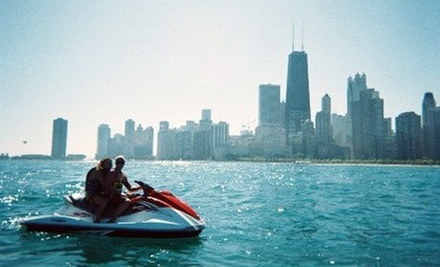 30- or 60-Minute Jet-Ski Rental from Windy City Watersports (Up to 53% Off)