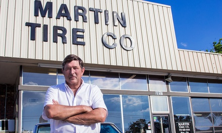 New or Used Tires and Tire Alignment and Rotation Services at Martin Tire Company (50% Off)