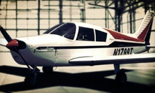 In-Air Flight Lesson for One at Crosswinds Flight School (Up to 53% Off)