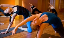 10 Classes or One Month of Unlimited Classes at Dharma Yoga (Up to 67% Off)