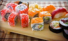 $10 for $20 Worth of Sushi at Happy Fish Sushi &amp; Martini Bar. Two Options Available.