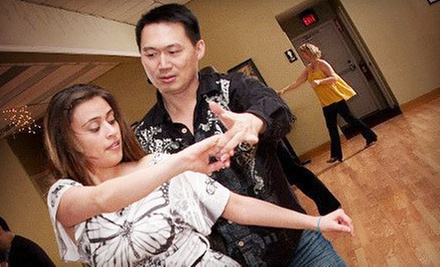 One, Two, or Four Private Dance Lessons for an Individual or Couple at Chicago Dance Factory (Up to 75% Off)