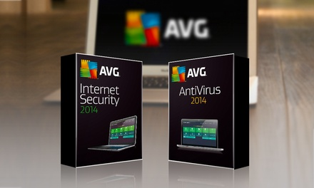 AVG Antivírus 2014 por 12,90€ ou AVG Internet Security 2014 por 24,90€